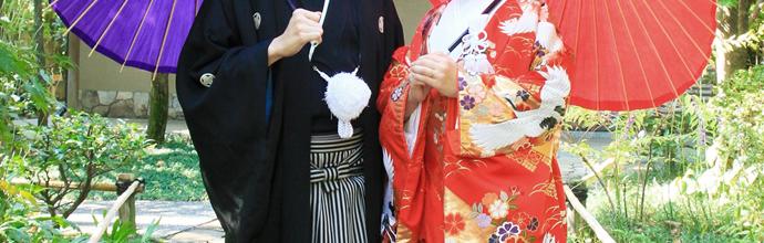 日本男児らしさを演出する袴