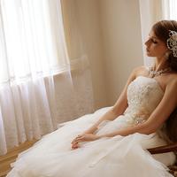 フワフワウエディングドレスのサムネイル