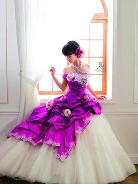 【剛力彩芽】カラードレス