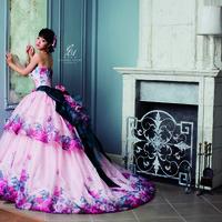 【剛力彩芽】カラードレスのサムネイル