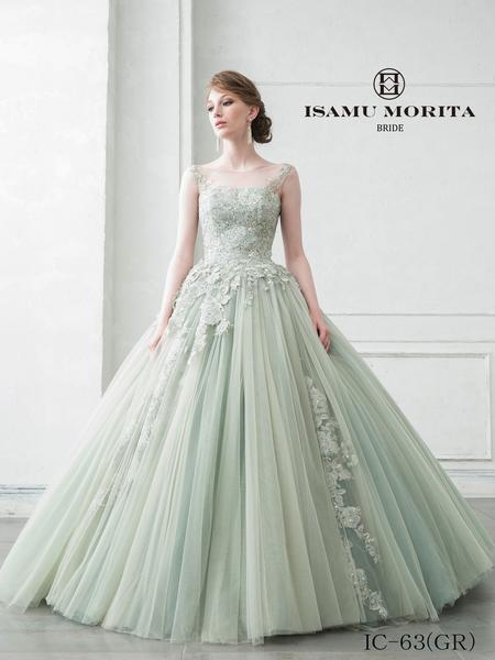 【ISAMU MORITA】カラードレス