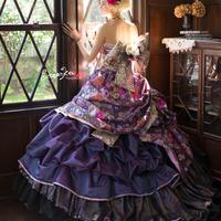【Sugar Kei】和柄カラードレスのサムネイル