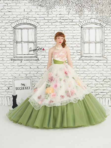 【Sugar Kei】カラードレス