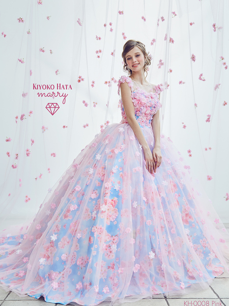 【KIYOKO HATA】お花ドレス
