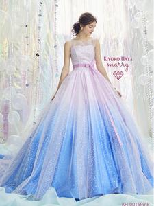 【KIYOKO HATA】ミックスドレス