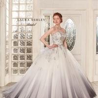 【LAURA ASHLEY】グレーウエディングドレスのサムネイル