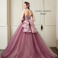 【LAURA ASHLEY】ピンクのカラードレスのサムネイル