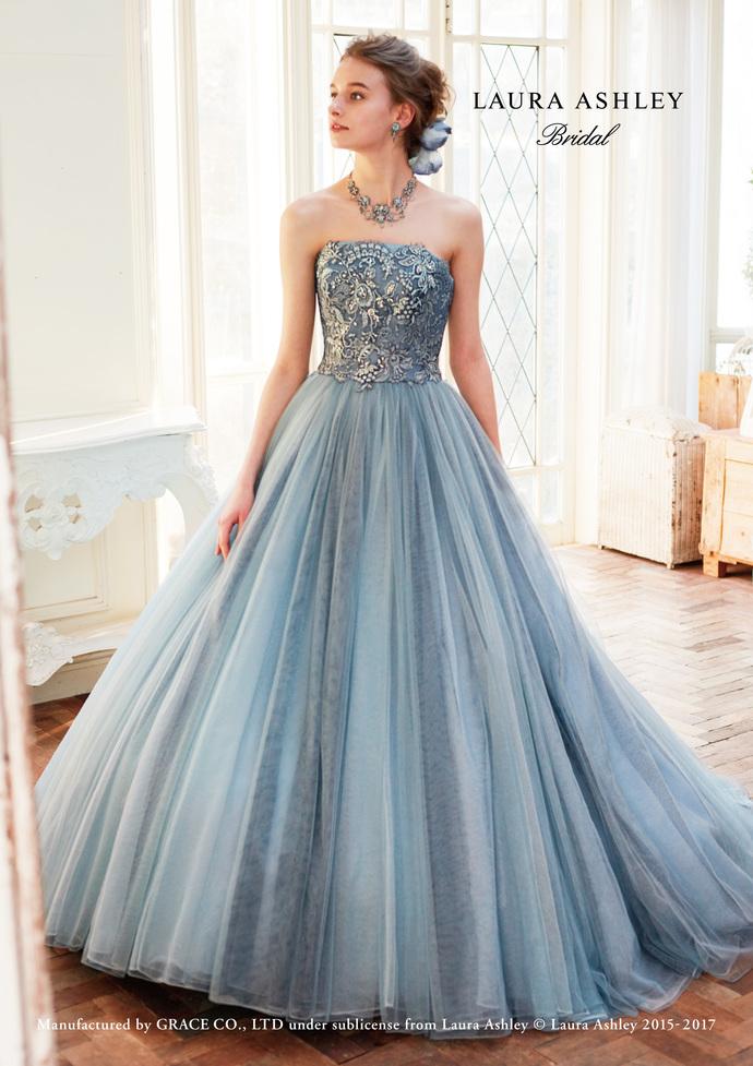 【LAURA ASHLEY】カラードレスのサムネイル