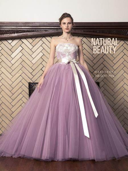 【NATURAL BEAUTY】カラードレス