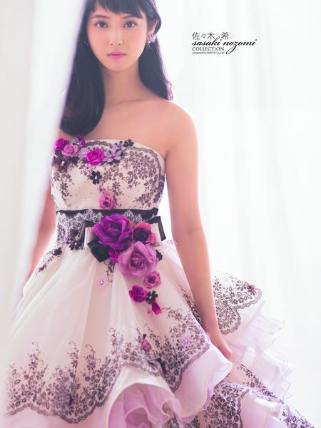 【佐々木 希】カラードレス