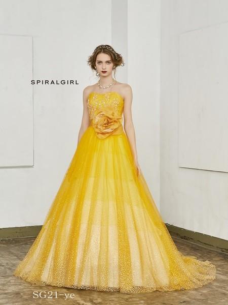 【SPIRALGIRL】カラードレス