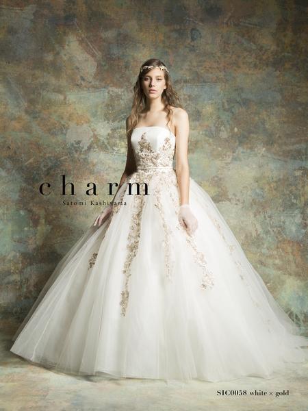 【charm】ウエディングドレス