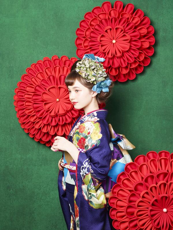 8月8日(土)~10日(月) 熊本本店 成人式中振袖展示会を開催いたします。