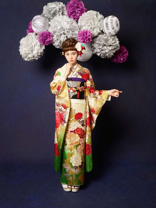 2月11日~2月14日 熊本本店 中振袖展示会を開催いたします‼